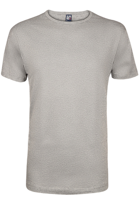 Alan Red T-shirt Derby, O-hals, grijs gemêleerd