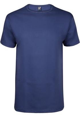 Alan Red T-shirt Derby, O-hals, kobalt blauw