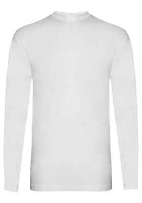Alan Red T-shirts Arizona (1-pack), O-hals lange mouw, wit