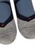 Falke RU4 cushion heren hardloopsokken, grijs-rood-blauw