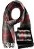 Heren sjaal, rood geruit (in cadeaubox)