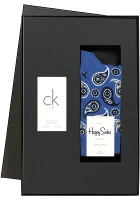 Heren cadeaubox: Ck One parfum + Happy Socks