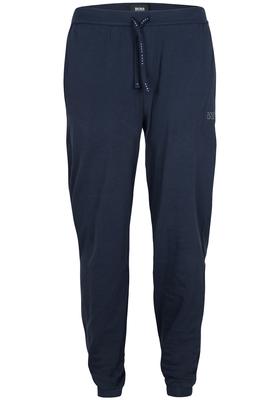Hugo Boss heren lounge broek (dun), donkerblauw