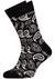 Heren cadeaubox: Muchachomalo boxershort + Happy Socks (zwart)