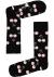 Happy Socks sokken Cherry Sock, zwart met roze