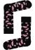 Happy Socks sokken Watermelon Sock, zwart met roze