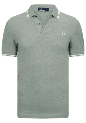 Fred Perry M3600 shirt, polo Ivy Oxford / Ecru / Ecru
