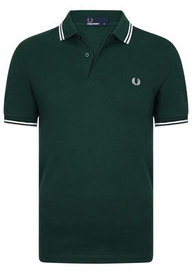 Fred Perry M3600 shirt, polo Ivy / Snow White