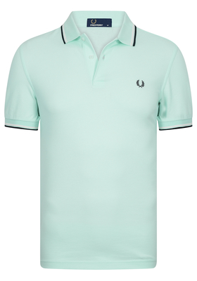 Fred Perry M3600 shirt, polo Del La Mer / Snow White / Navy