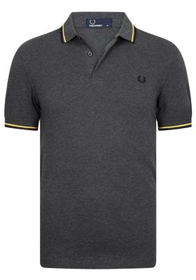 Fred Perry M3600 shirt, polo Graphite Marl / 1964 Yellow / Black