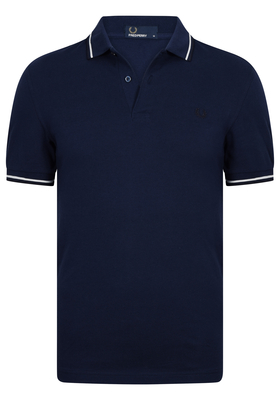 Fred Perry M3600 shirt, polo Carbon Blue / Snow White / Navy