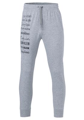 Calvin Klein Logo jogger, grijze joggingbroek