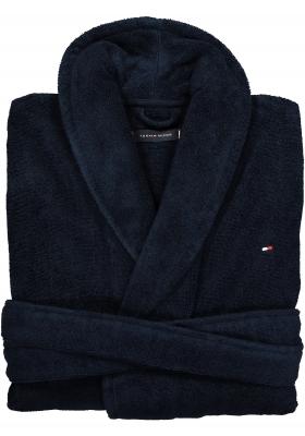 Tommy Hilfiger heren badjas blauw, in cadeau verpakking