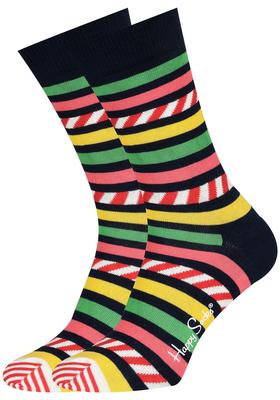 Happy Socks herensokken, stripe en stripe