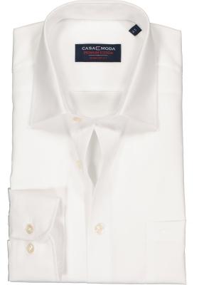 Casa Moda Comfort Fit overhemd, mouwlengte 7, wit