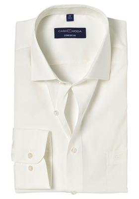 Casa Moda Comfort Fit overhemd, mouwlengte 7, beige