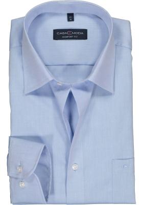 CASA MODA comfort fit overhemd, mouwlengte 7, lichtblauw