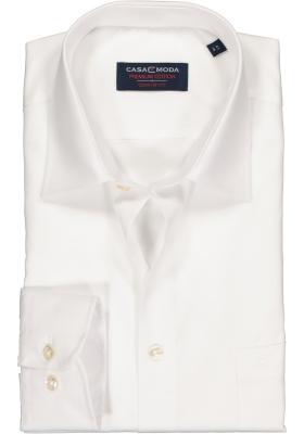 Casa Moda Comfort Fit overhemd, mouwlengte 72 cm, wit