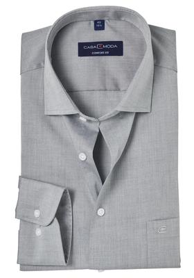 Casa Moda Comfort Fit overhemd, mouwlengte 72, grijs