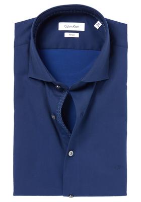 Calvin Klein Fitted overhemd (Rome), Night Blue