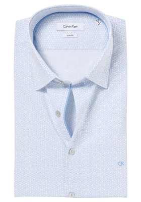 Calvin Klein Slim Fit overhemd (Padua), Light blue