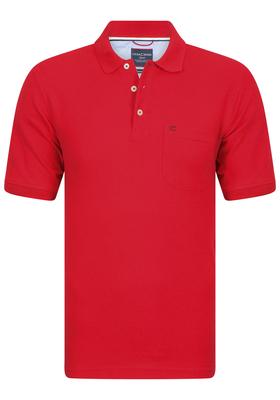 Casa Moda Comfort Fit poloshirt, rood