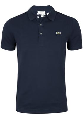 Lacoste Sport polo Slim Fit, blauw (ultra lightweight knit)