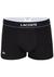 Lacoste Trunks kort model (3-pack), zwart, grijs, wit