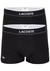 Lacoste Trunks kort model (2-pack), zwart
