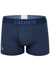 Lacoste Trunks kort model, blauw piqué