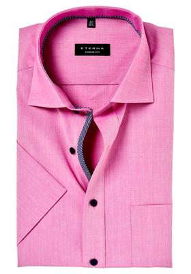 ETERNA Comfort Fit, korte mouw, roze (contrast)