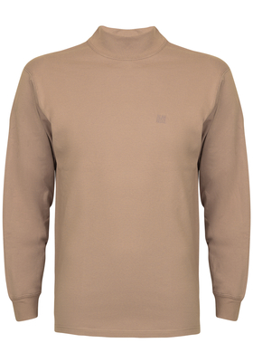 Alan Red T-shirt Illinois, turtleneck, beige