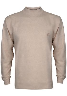 Alan Red T-shirt Illinois, turtleneck, beige melange