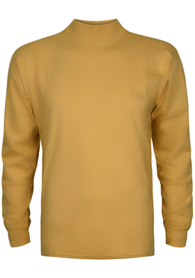 Alan Red T-shirt Illinois, turtleneck, oker