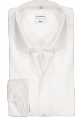 Seidensticker Slim overhemd mouwlengte 7, wit