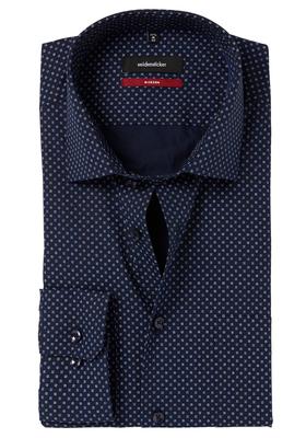 Seidensticker Modern Fit overhemd, blauw dessin