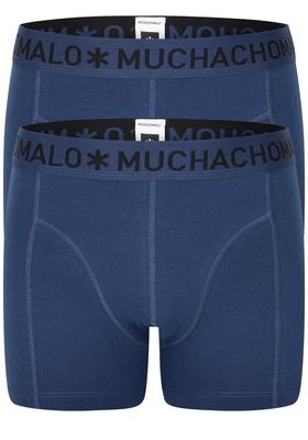 Muchachomalo boxershorts, 2-pack, blauw