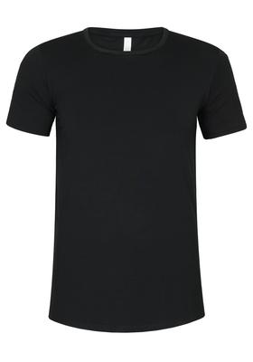Muchachomalo T-shirts O-hals Bamboo, zwart