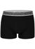Muchachomalo boxershorts Bamboo, 2-pack, zwart en grijs