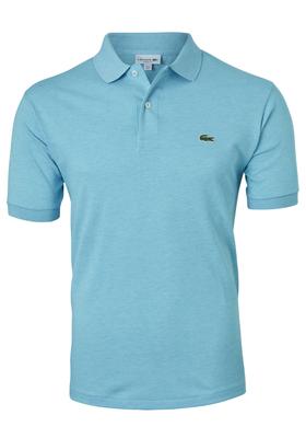 Lacoste Classic Fit polo, zeegroen/blauw melange Lavezzi