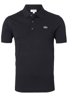 Lacoste Sport polo Regular Fit, zwart (ultra lightweight knit)