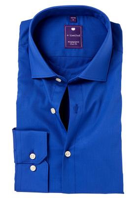 Redmond Slim Fit overhemd, blauw