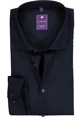 Redmond slim fit overhemd, nacht blauw