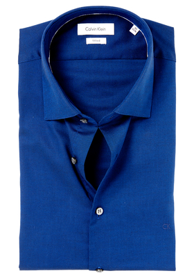 Calvin Klein Fitted overhemd (Cannes), navy