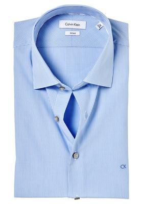 Calvin Klein Fitted overhemd (Cannes), blauw gestreept (blue)