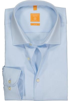 Redmond modern fit overhemd, lichtblauw