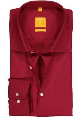 Redmond modern fit overhemd, rood