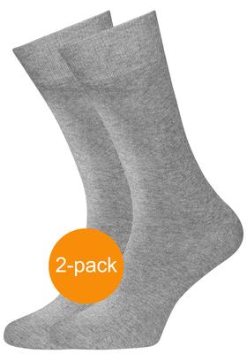Schiesser herensokken (2-pack), grijs melange