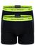 Armani Boxers (2-pack), zwart/neon geel