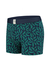 A-dam boxershort Sjors, blauw met palmbladeren